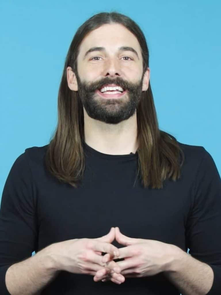 Jonathan Van Ness, discusses his struggle with HIV, how long it takes to develop symptoms of HIV, and the relation between HIV and AIDS.