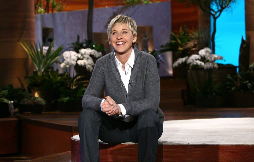 On the Ellen show, people get upset at LGBTQ comedian, Ellen De.Generes for befriending George.W.Bush, and it goes controversial.