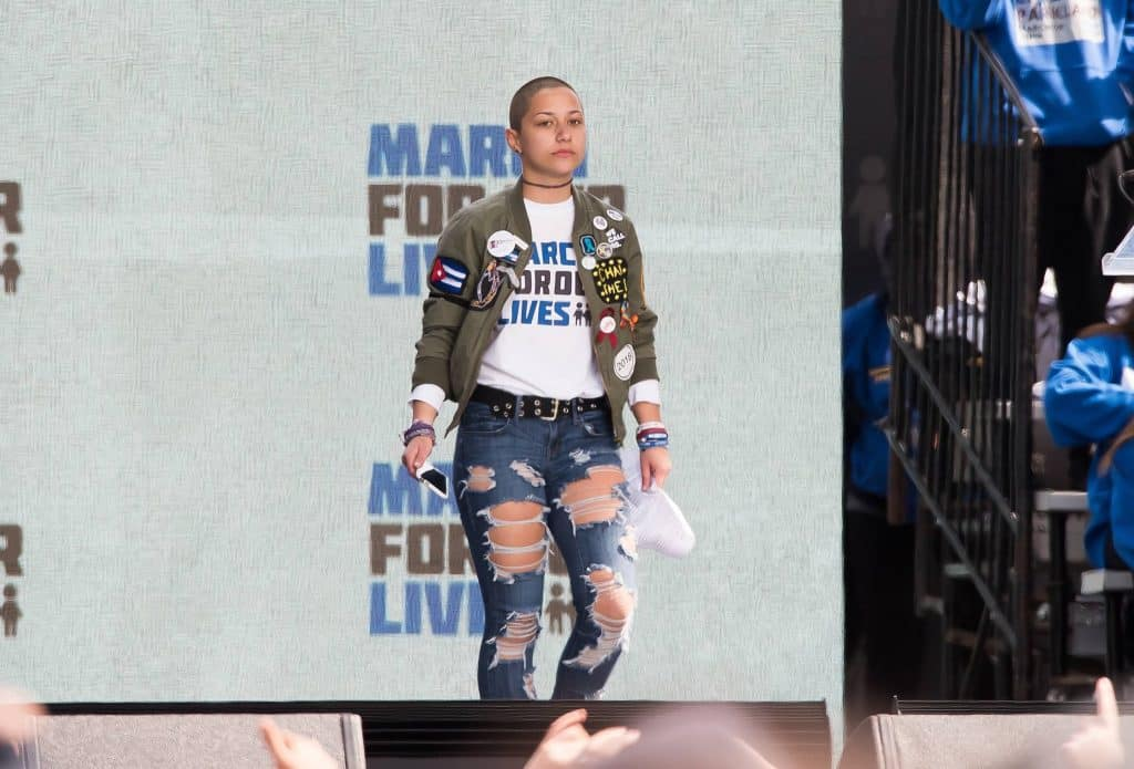 After everything Emma Gonzalez has gone through and she hasn't backed down is something all influential women stand for.