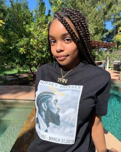 At just age of 15, Marsai Martin was the star and executive producer of her own major motion picture, setting a great example for all young women.