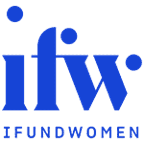 This is the official logo of IFundWomen, or ifw for short.