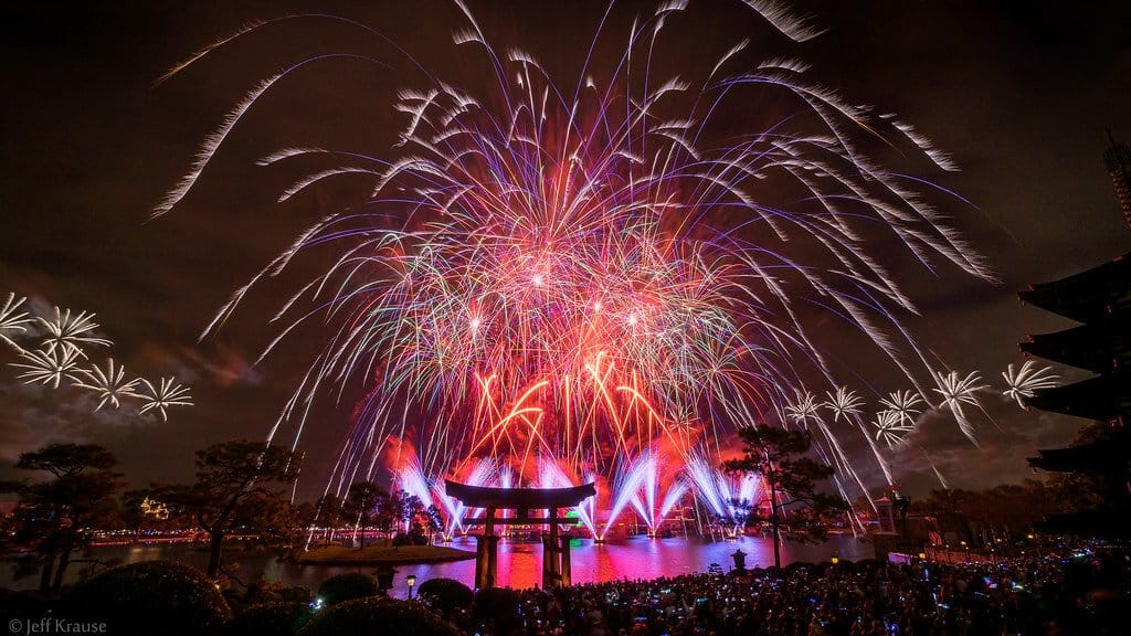 New Year's Eve 2014 in Epcot.