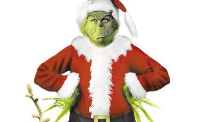 The Grinch in a Santa Claus suit, who hates the holiday stress.