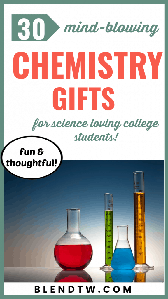 Pin for 30 mind-blowing Chemistry Gifts.