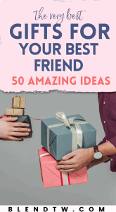 Gift ideas for best friends pin
