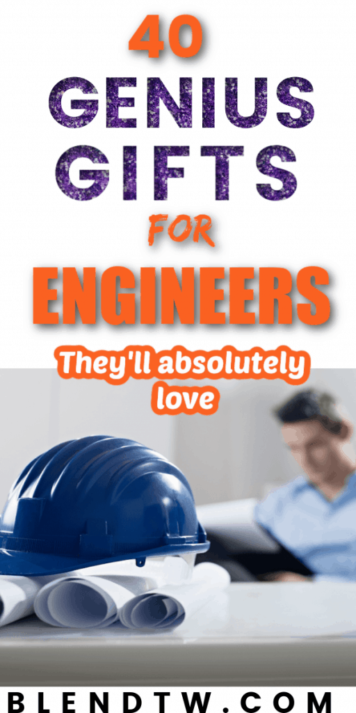 Pin for 40 Genius Gifts for Engineers