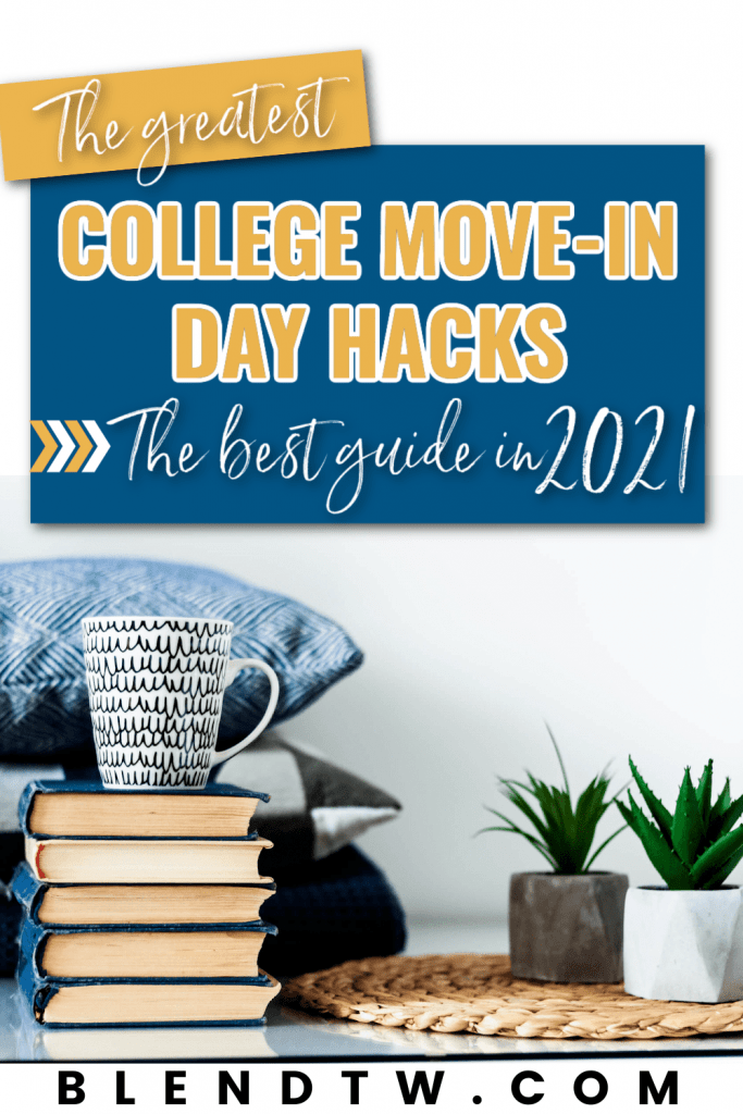The greatest college move-in day hacks, the best guide in 2021 pin