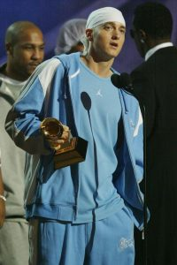 Eminem in the early 2000s.
