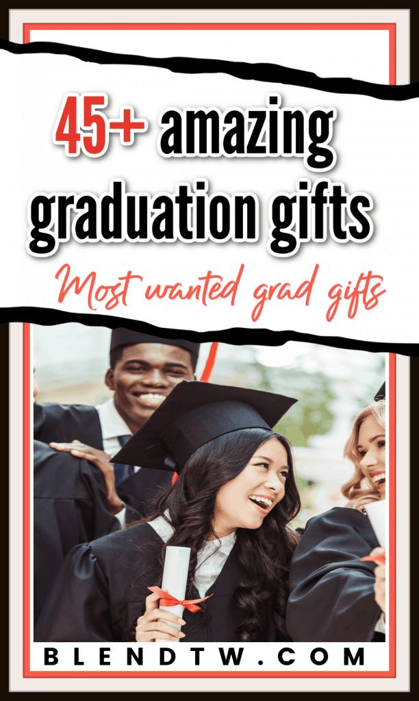 Pin for 45+ amazing graduation gifts most wanted grad gifts.