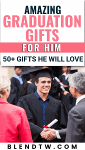 Pin for 50 graduation gifts for him.