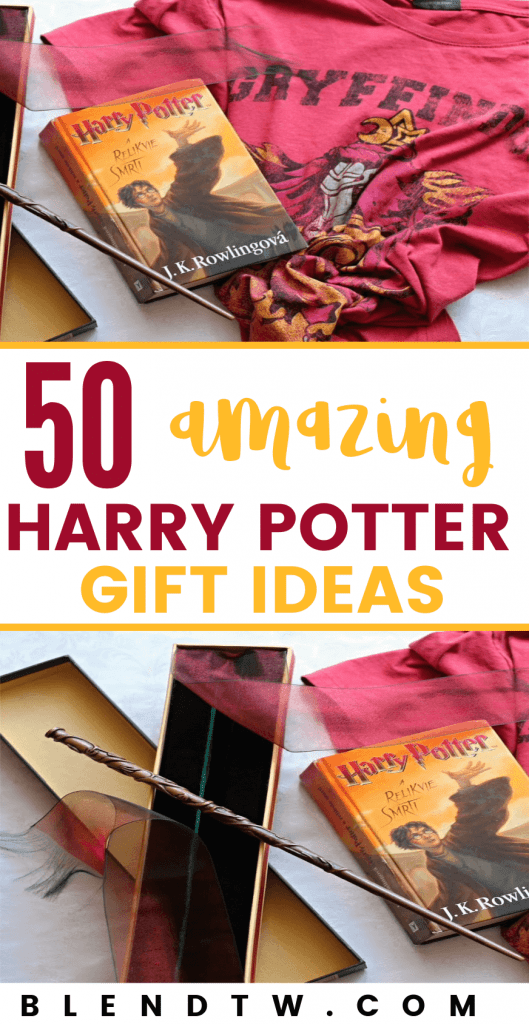 Pin for 50 amazing Harry Potter Gift Ideas.
