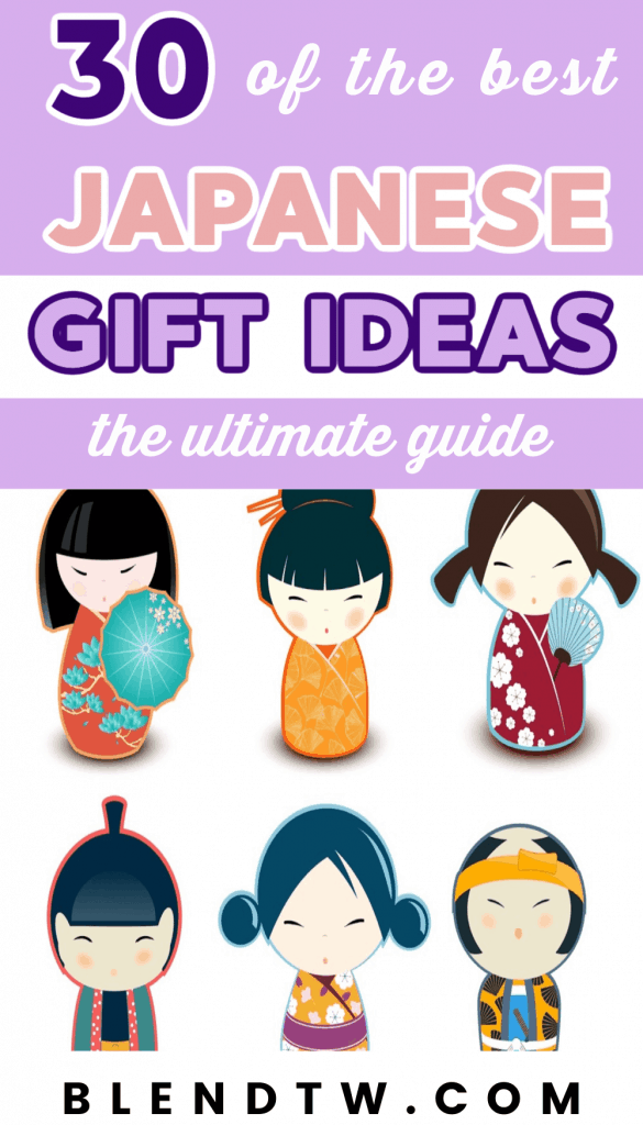 Pin for 30 of the best Japanese Gift Ideas.
