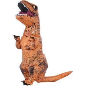 A T-rex costume.