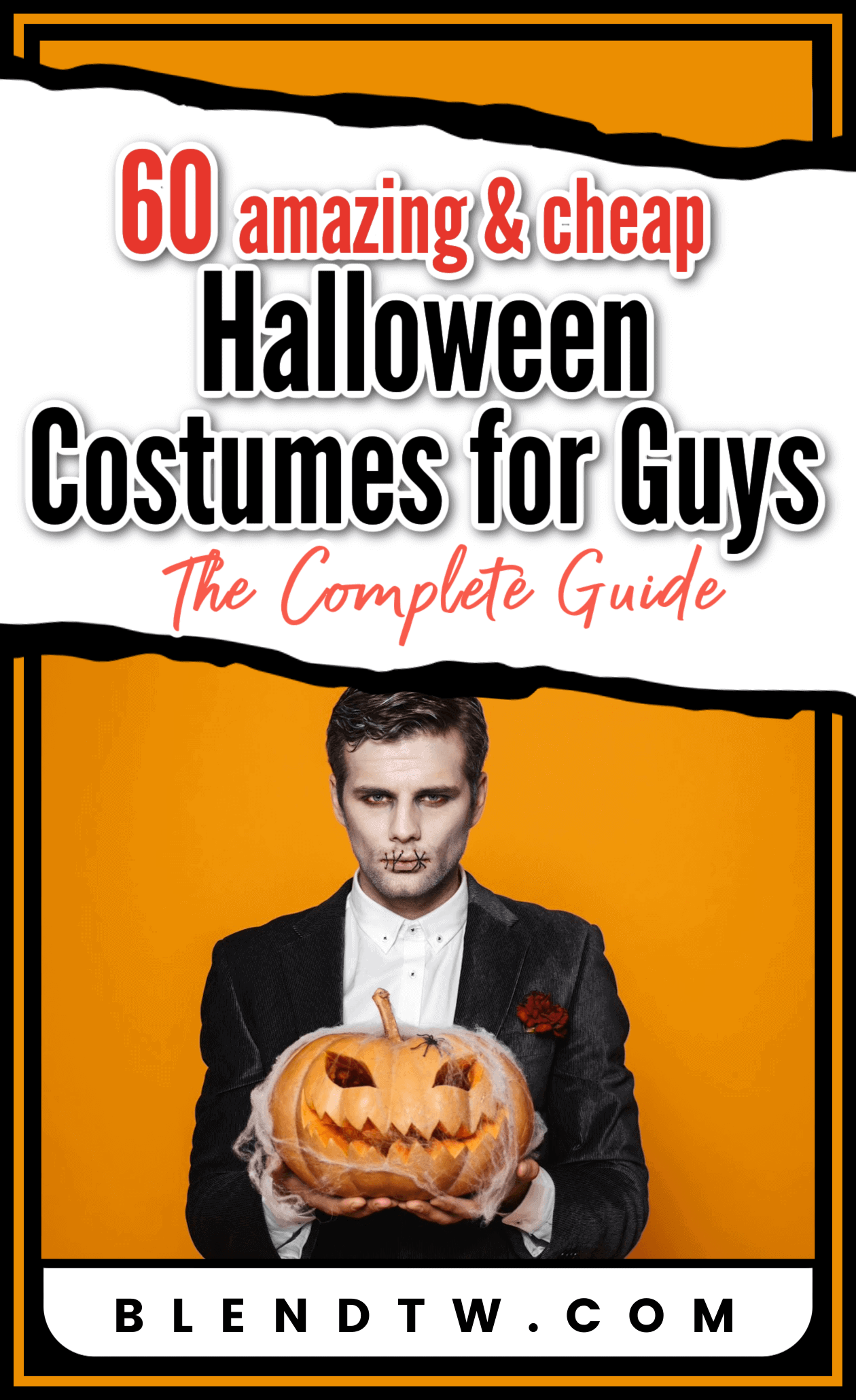 Pin for 60 amazing and cheep Halloween costumes for guys.