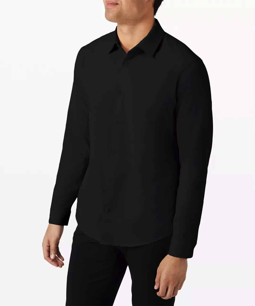 Airing Easy Long Sleeve Shirt Ventlight™ Mesh   Men's Buttondown Shirts   lululemon