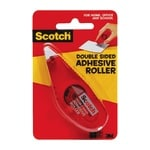 Scotch Double-Sided Adhesive Roller - Dispenser Included - Handheld Dispenser - 1 / Each - Clear