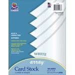 Pacon Card Stock Letter Paper Size 65 Lb White 100 Sheets - Office Depot