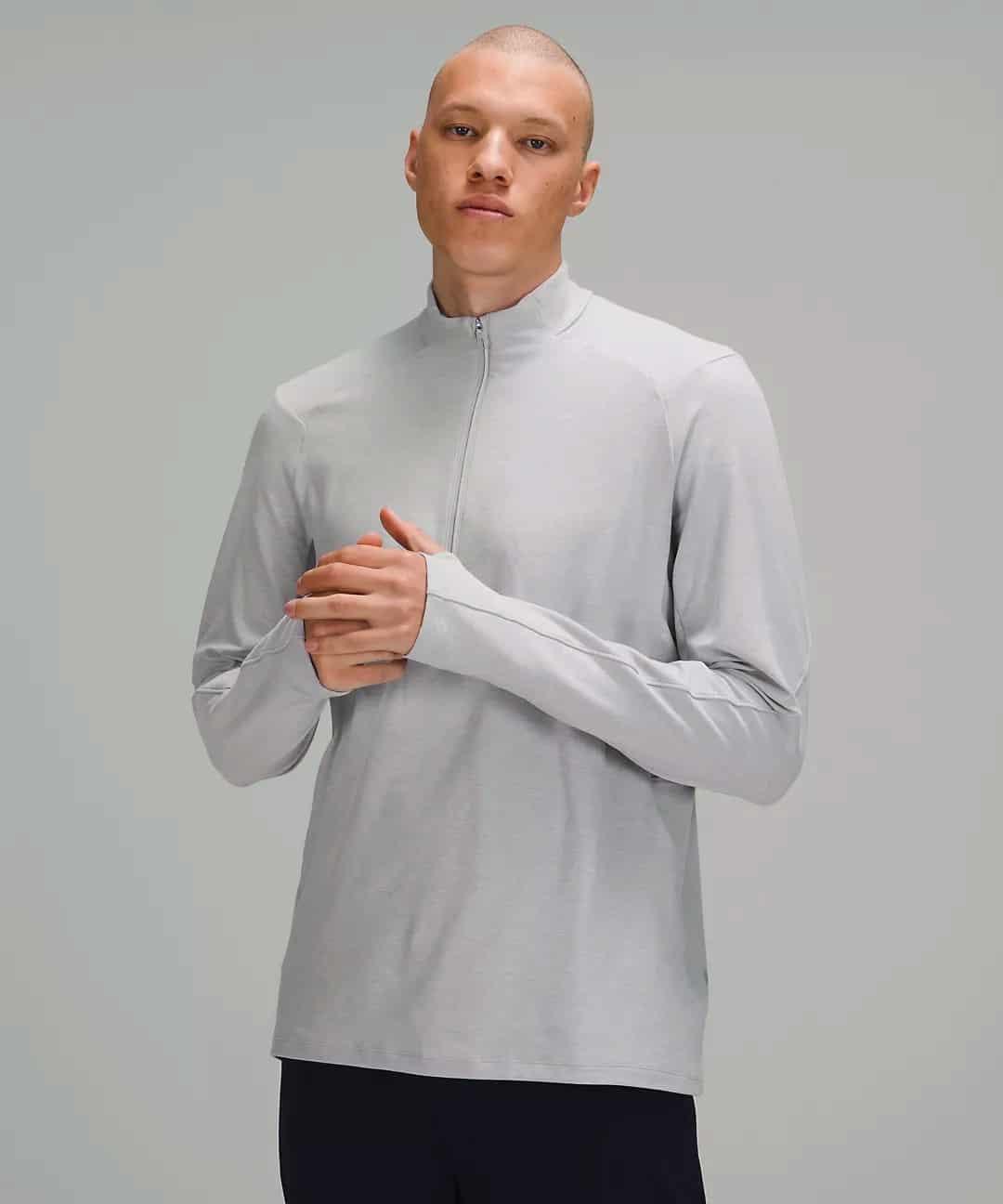 Surge Warm 1/2 Zip | Men's Long Sleeve Tops | lululemon