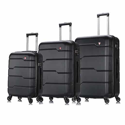 DUKAP® Rodez 3-Piece Hardside Spinner Luggage Set