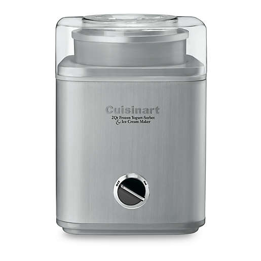 Cuisinart® Stainless Steel Ice Cream Maker
