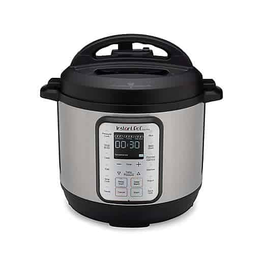 Instant Pot 9-in-1 Duo Plus 6 qt. Programmable Electric Pressure Cooker