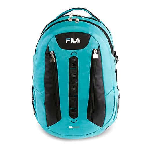 FILA Vertex Tablet and Laptop Backpack in Teal