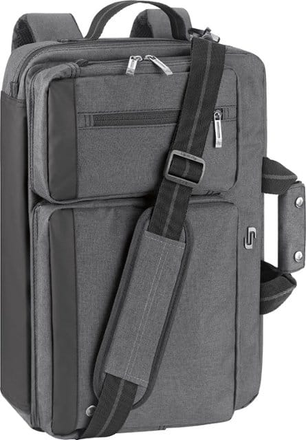 solo New York - Urban Convertible Laptop Briefcase Backpack for 15.6