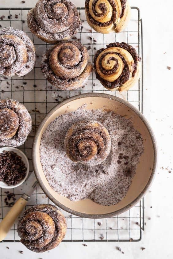 Desserts with unique shapes