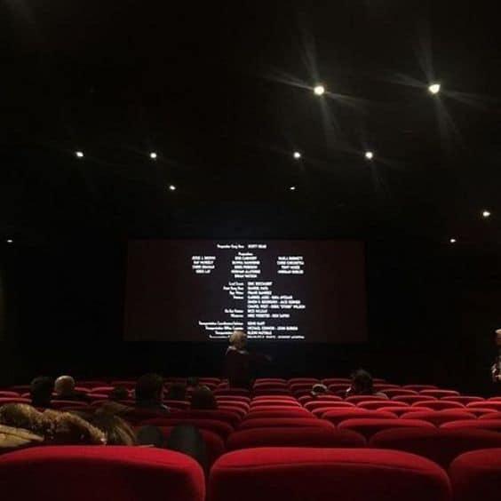 A movie theatre