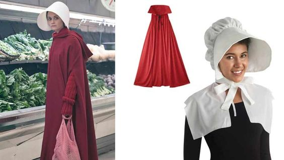 A handmaid's tale costume
