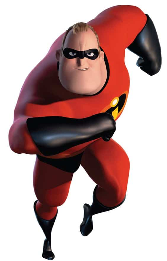 The character Mr, incredible