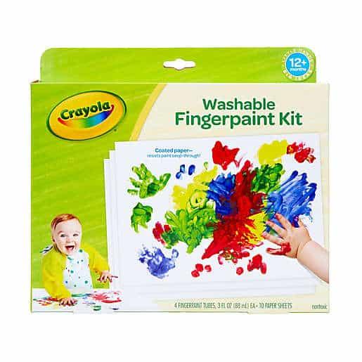 Washable Fingerpaint Set