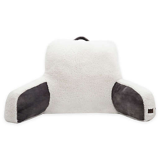 UGG® Clifton Backrest Pillow in Charcoal