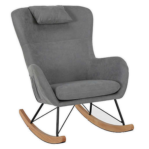 Lyon Rocker Chair with Storage Pockets
