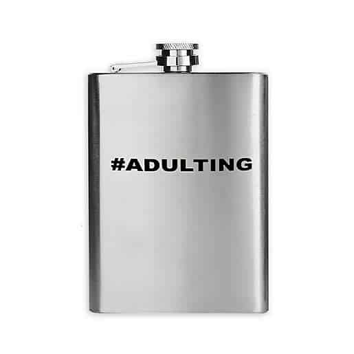 #Adulting Flask