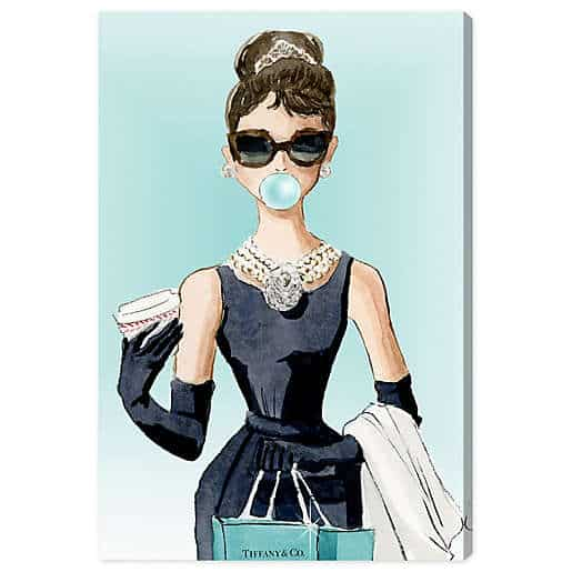 Oliver Gal Bubble Gum Jewelry Canvas Wall Art