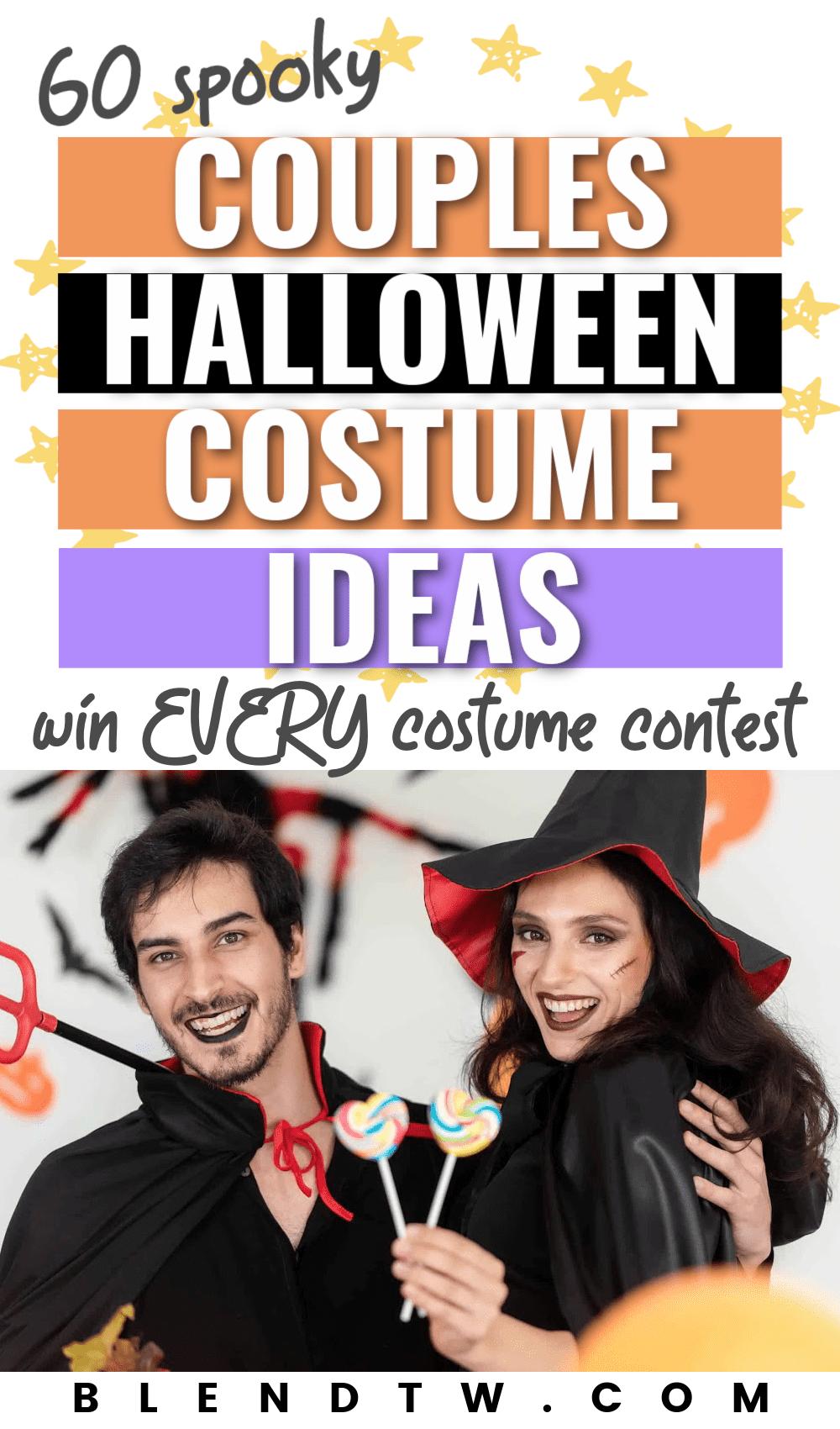 60 spooky couples halloween costume ideas