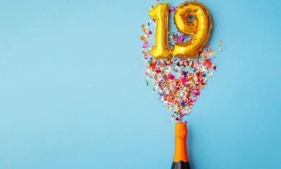 19th birthday balloon