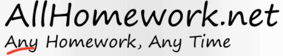 AllHomework.net logo