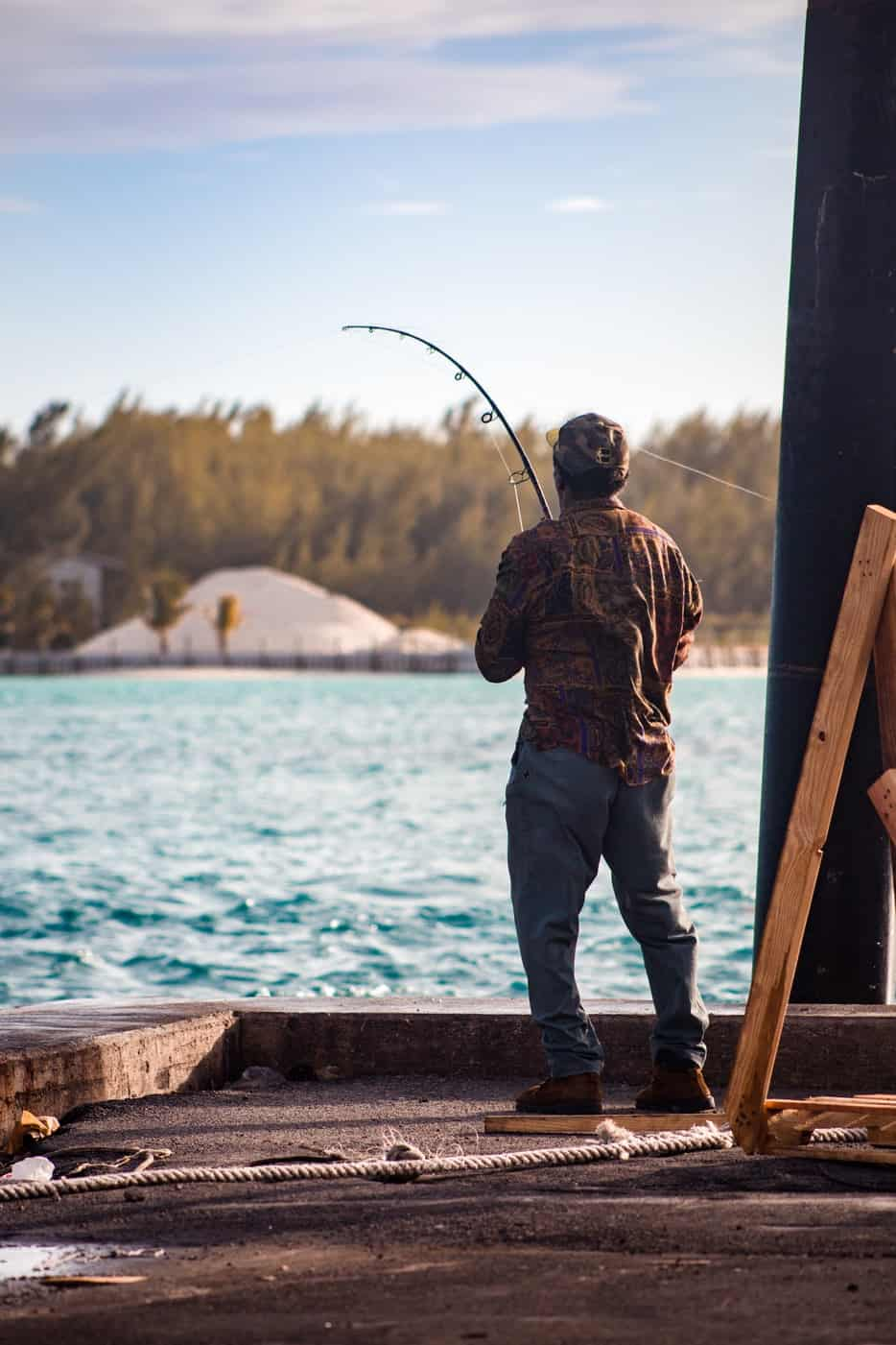 a peron fishing
