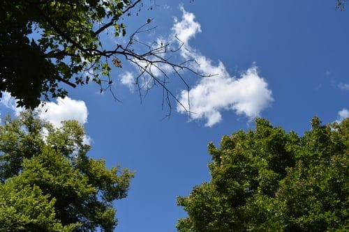 a picture of the sky