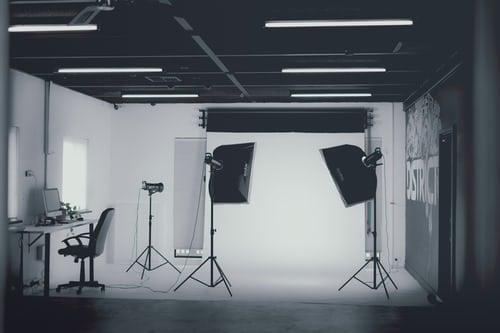 a photo studio