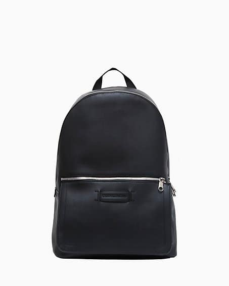 Micro Pebble Logo Tag Campus Backpack | Calvin Klein