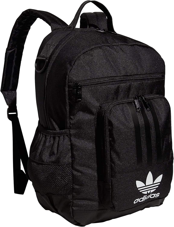adidas Originals National 3-Stripes 2.0 Backpack, Adi Camo White/Black, One Size
