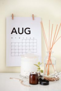 dorm room wall calendar for girls